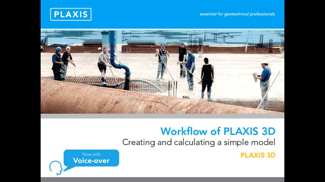 PLAXIS 3D workflow tb