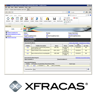 XFRACAS: Web-Based Failure Reporting Software (FRACAS System)