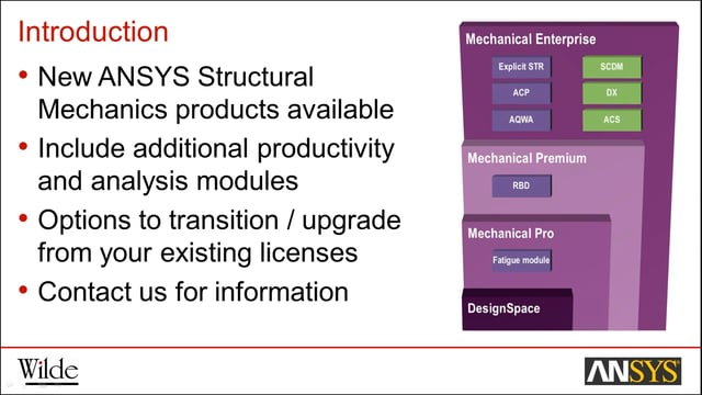 ANSYS R17 Structural Mechanics New Features & Updates