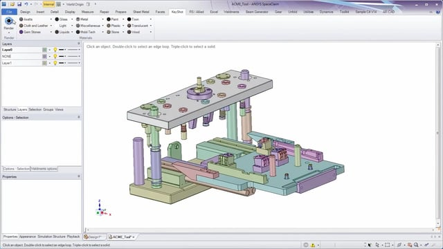 ANSYS SpaceClaim as a Primary Design Tool