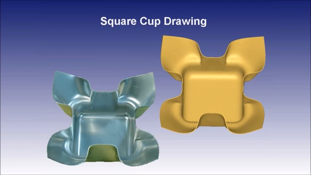 DEFORM Sheet Forming Simulation Applications
