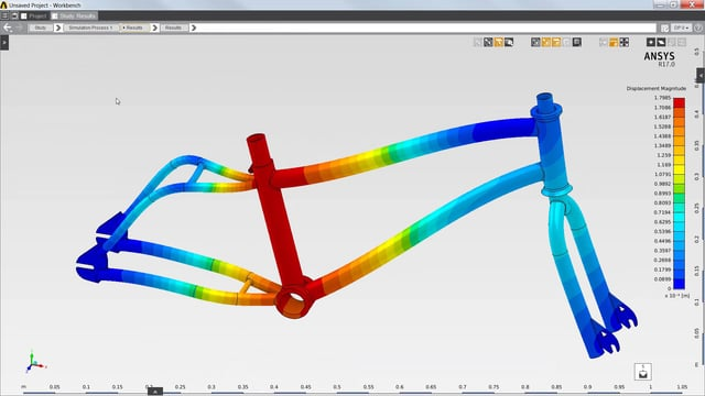 Fatigue Assessment of Bicycle Frame with ANSYS AIM