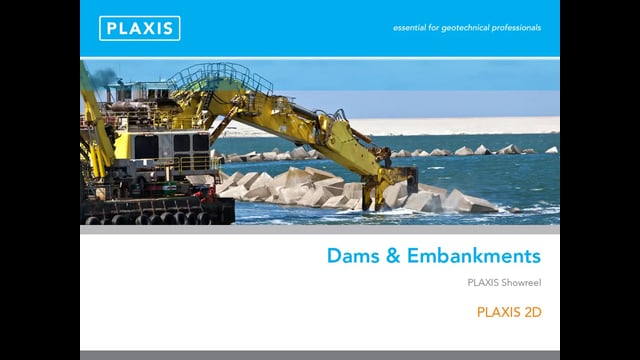 PLAXIS 2D Modelling of Dams Embankments tb