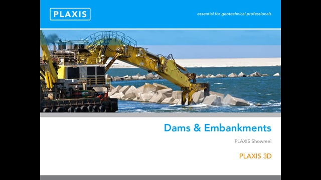 PLAXIS 3D Modelling for Dams and Embankments tb