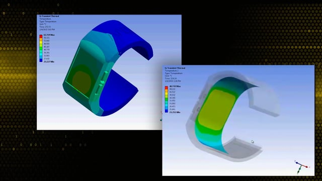 Smart Watch Wearable Technolgy Simulations with ANSYS
