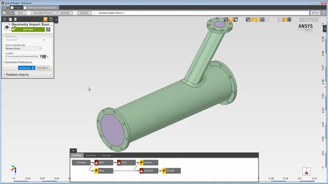 ansys-aim-spaceclaim-import-demo