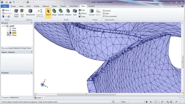 Overview Video 3D Printing Supported  by ANSYS SpaceClaim
