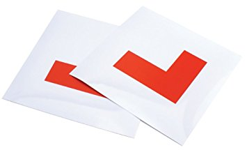 Drivers learner plates