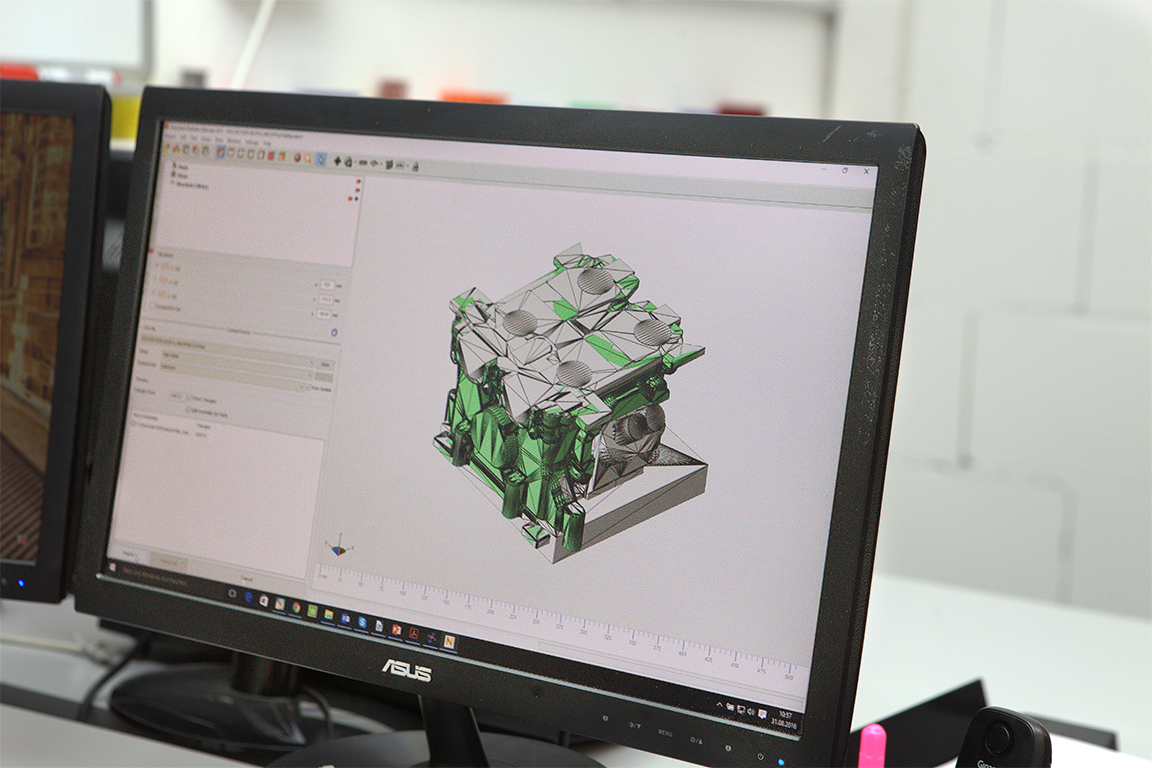 Autodesk Netfabb Standard User Interface