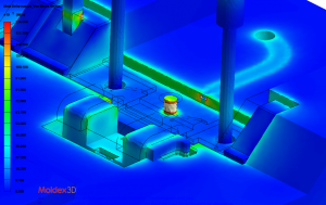 Moldex3D Stress Analysis
