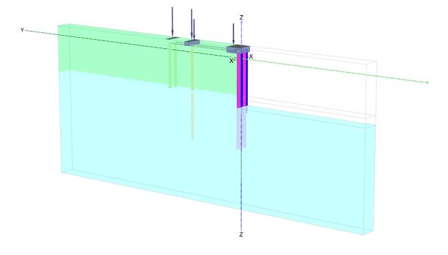 (b) 3D representation
